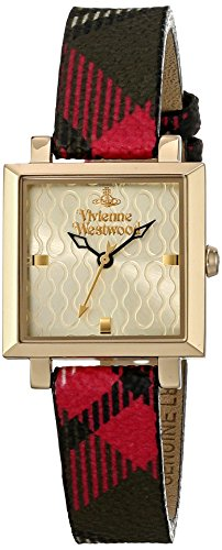 Vivienne Westwood Analog Quarz Leder VV087GDBR