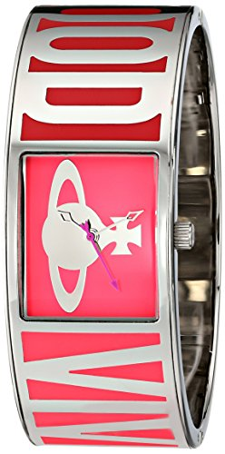 Vivienne Westwood Damen Armbanduhr Bond Analog Quarz Edelstahl VV084PK