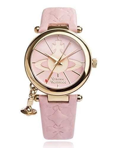 Vivienne Westwood Damen-Armbanduhr Orb II Analog Quarz VV006PKPK
