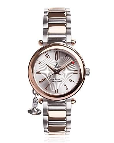 Vivienne Westwood Damen-Armbanduhr Orb Analog Quarz VV006RSSL