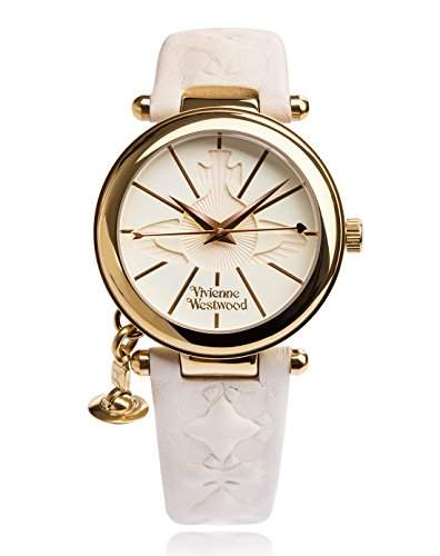 Vivienne Westwood Damen-Armbanduhr Orb II Analog Quarz VV006WHWH