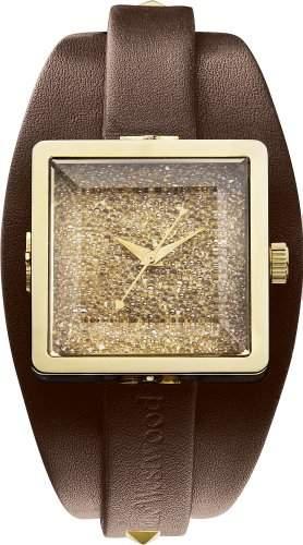 Vivienne Westwood Damen-Armbanduhr Cube II Analog Quarz VV008GDBR