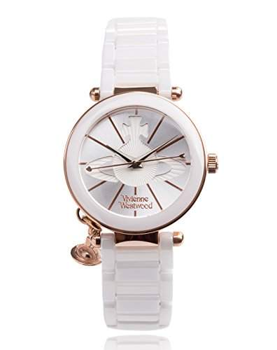 Vivienne Westwood Damen-Armbanduhr Kensington Analog Quarz VV067RSWH