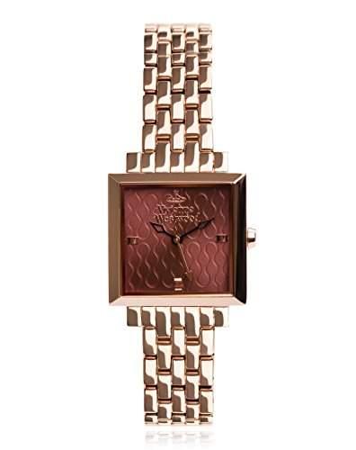 Vivienne Westwood Damen-Armbanduhr Exhibitor Analog Quarz Edelstahl VV087BYRS