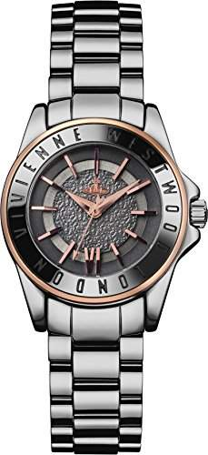 Vivienne Westwood Damen-Armbanduhr Sloane II Rose Analog Quarz Keramik VV088GYSL