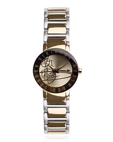 Vivienne Westwood Damen-Armbanduhr Sudbury Analog Quarz Edelstahl VV089GDTT