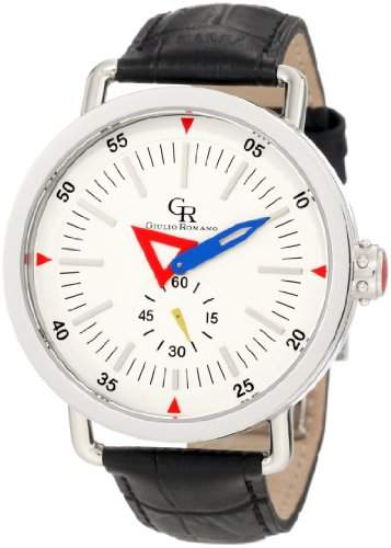 Guilio Romano Herren-Armbanduhr XL Toscana Analog Leder GR-1001-04-001