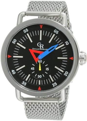 Guilio Romano Herren-Armbanduhr XL Toscana Analog Edelstahl GR-1001-04-007B