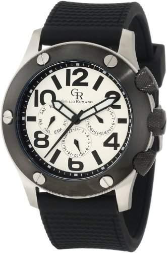 Guilio Romano Herren-Armbanduhr XL Piemonte Analog Silikon GR-3000-04-001