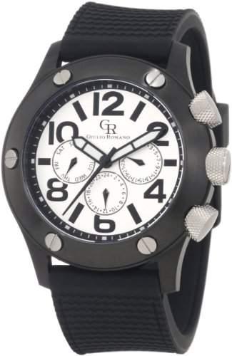 Guilio Romano Herren-Armbanduhr XL Piemonte Analog Silikon GR-3000-13-001