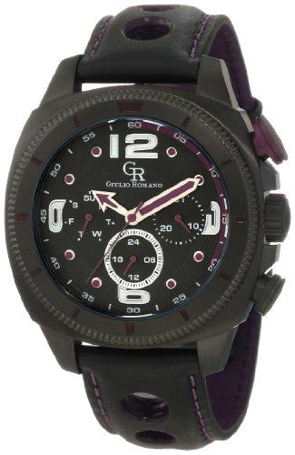 Guilio Romano Herren Armbanduhr XL Pescara Analog Leder GR 2000 13 013