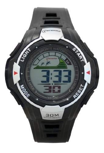 Waooh - Uhr MingRui LCD 6028 Schwarz