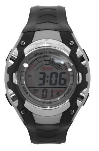 Waooh - Uhr - MingRui LCD 7018 Grau