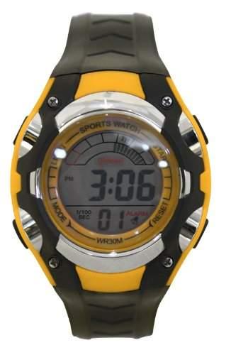 Waooh - Uhr - MingRui LCD 7018 Gelbe