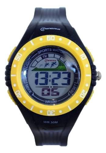 Waooh - Uhr - MingRui LCD 8020 Gelbe