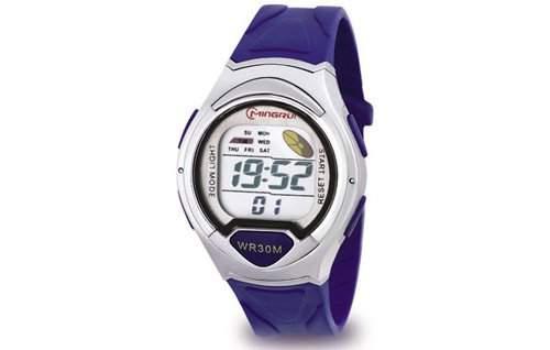 Waooh - Uhr - MingRui LCD 8503 Blau