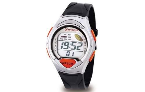 Waooh - Uhr - MingRui LCD 8503 Orange