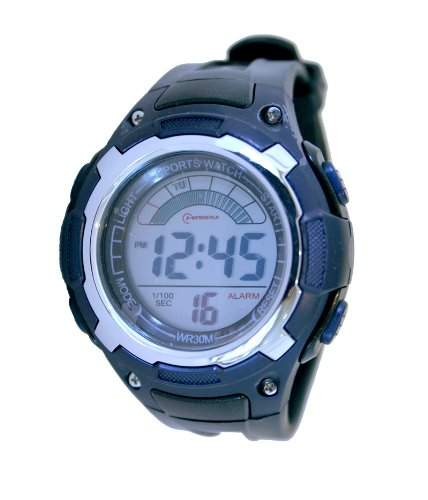 Waooh - Uhr MingRui LCD 9027 Blau