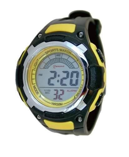 Waooh - Uhr MingRui LCD 9027 Gelbe