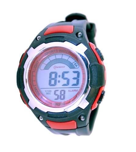 Waooh - Uhr MingRui LCD 9027 Rot