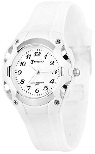 Analoge kleine MINGRUI Armbanduhr fuer Damen und Kinder nickelfrei 1708258 RM 1