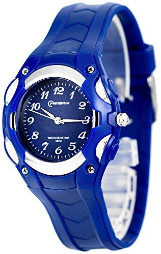 Analoge kleine MINGRUI Armbanduhr fuer Damen und Kinder nickelfrei 1708258 RM 4