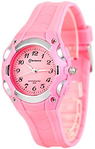 Analoge kleine MINGRUI Armbanduhr fuer Damen und Kinder nickelfrei 1708258 RM 5