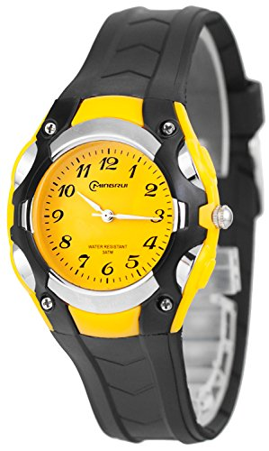 Analoge kleine MINGRUI Armbanduhr fuer Damen und Kinder nickelfrei 1708258 RM 2
