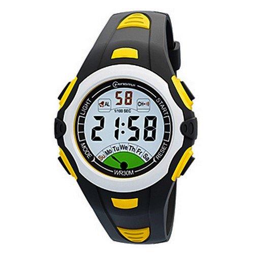 Herren Armband Kunststoff Farbe Zifferblatt rund Marke Mingrui mr8538 Digitale Watch