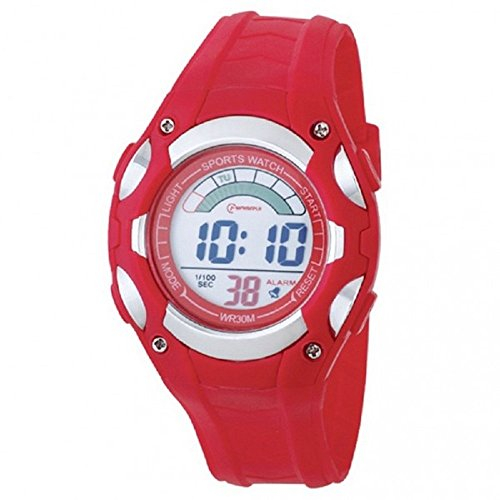 Damen Digital Armbanduhr Kinder Armband Kunststoff Farbe Zifferblatt rund Marke Mingrui mr8529