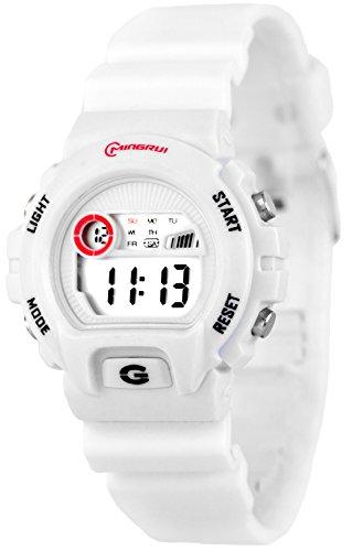 Digitale Armbanduhr fuer Damen und Kinder mit Alarm Stoppuhr Datum 5116658 1
