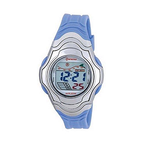 Mingrui digitale Quarz Chronograph sportlich Alarmfunktion wasserdicht blau 1