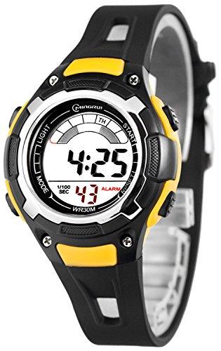 Sportliche Digital Multifunktions MINGRUI Armbanduhr fuer Damen und Kinder 91093258 RM 6