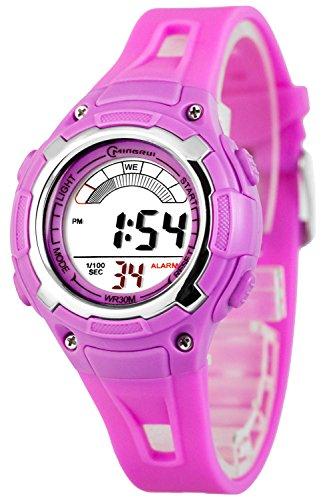 Sportliche Digital Multifunktions MINGRUI Armbanduhr fuer Damen und Kinder 91093258 RM 5