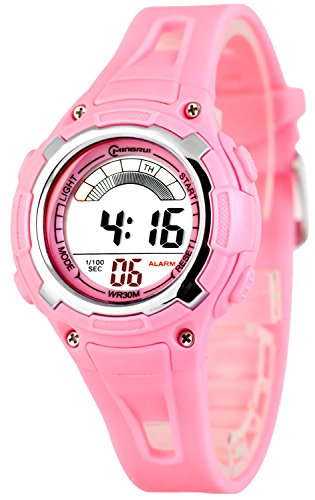 Sportliche Digital Multifunktions MINGRUI Armbanduhr fuer Damen und Kinder 91093258 RM 2