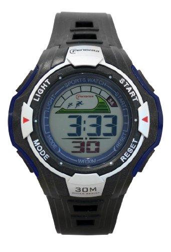Waooh Uhr MingRui LCD 6028 Blau