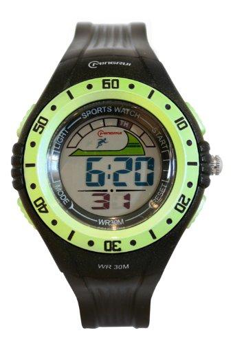 Waooh Uhr MingRui LCD 8020 Gruen
