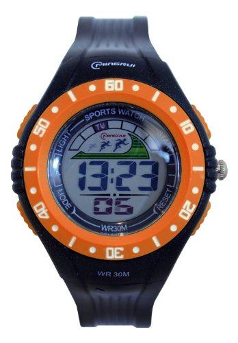 Waooh Uhr MingRui LCD 8020 Orange