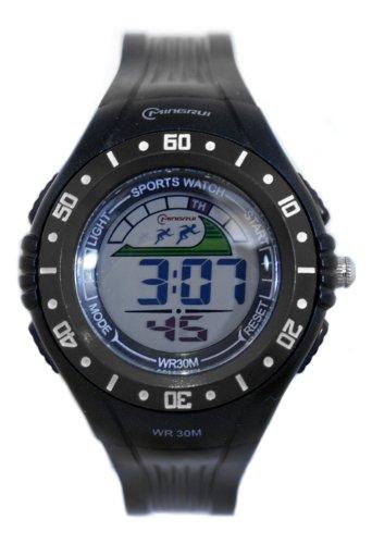 Waooh Uhr MingRui LCD 8020 Schwarz