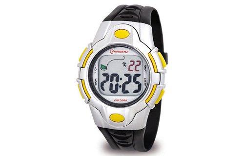 Waooh Uhr MingRui LCD 8501 Gelbe