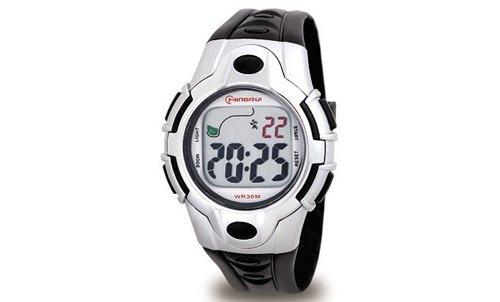 Waooh Uhr MingRui LCD 8501 Schwarz