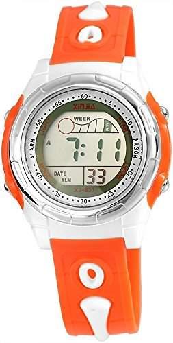 XINJIA Unisexuhr mit Kunststoffarmband Mehrfarbig Armbanduhr Uhr 201085800007