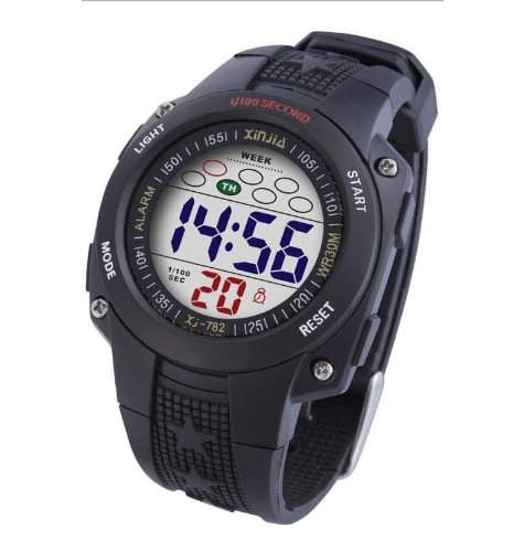 Waooh - Uhr - XinJia LCD XJ-782 Schwarz