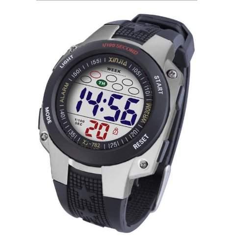 Waooh - Uhr - XinJia LCD XJ-782 Silver