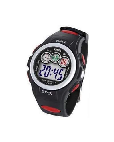Waooh - Uhr XinJia LCD XJ-810 Rot