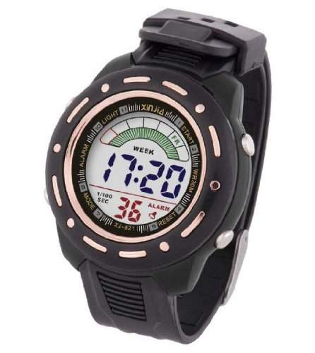 Waooh - Uhr XinJia LCD XJ-821 Schwarz