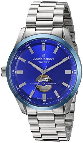 Claude Bernard Sporting Soul Aquarider Automatik Open Heart 85026 3MBU BUIN