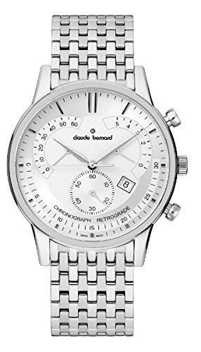 Claude Bernard Sophisticated Classics Chronograph Retrograde 01506 3M AIN
