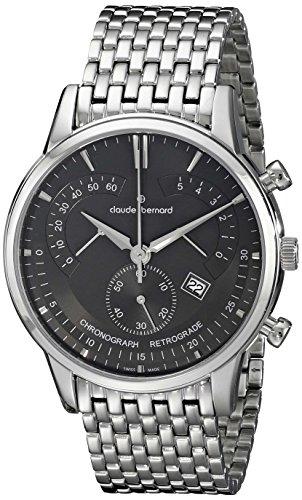 Claude Bernard Sophisticated Classics Chronograph Retrograde 01506 3M NIN