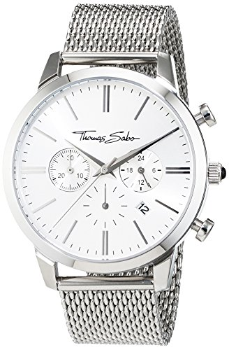 Thomas Sabo Watches Chronograph Quarz Edelstahl WA0244 201 201 42mm